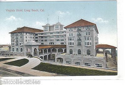 The Virginia Hotel-Long Beach,California #2 - Cakcollectibles