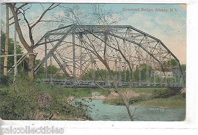 Kenwood Bridge-Albany,New York 1910 - Cakcollectibles