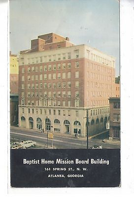 Baptist Home Mission Boarding Building, Atlanta, Georgia - Cakcollectibles