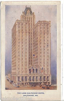 The Lord Baltimore Hotel-Baltimore,Maryland - Cakcollectibles
