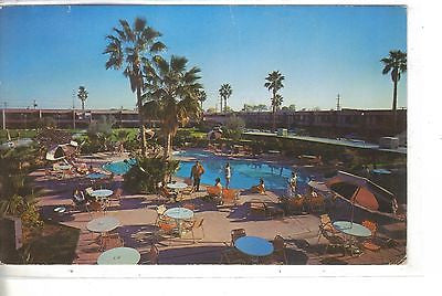 Safari Hotel-Scottsdale,Arizona.Vintage postcard front view