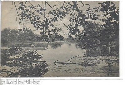 Entrance to Sylvan Lake-Pontiac,Michigan 1909 - Cakcollectibles - 1