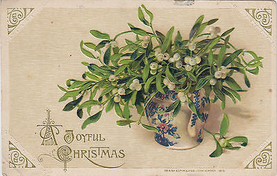 A Joyful Christmas John Winsch Postcard - Cakcollectibles