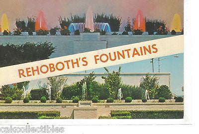 Rehoboth's Beautiful Fountains-Delaware - Cakcollectibles