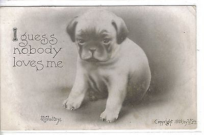 """I Guess Nobody Loves Me""-V.Colby 1911 - Cakcollectibles"