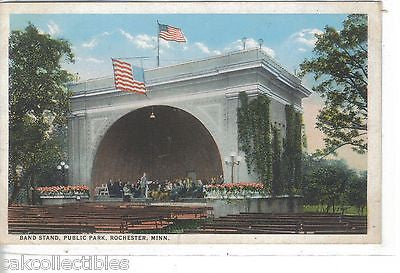 Band Stand,Public Park-Rochester,Minnesota - Cakcollectibles