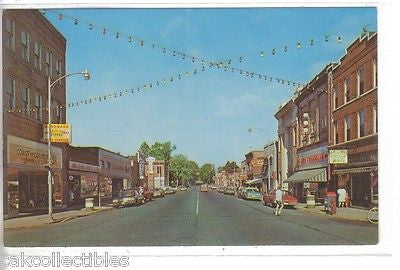 Genesee Street-Iron River,Michigan - Cakcollectibles - 1