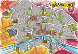 Frankfurt, Germany Postcard - Cakcollectibles - 1