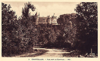 Chastellux  France Postcard - Cakcollectibles