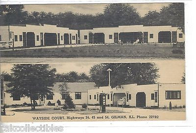 Wayside Court-Gilman,Illinois #2 - Cakcollectibles
