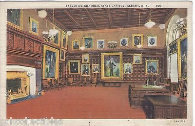 Executive Chamber,State Capitol-Albany,New York - Cakcollectibles
