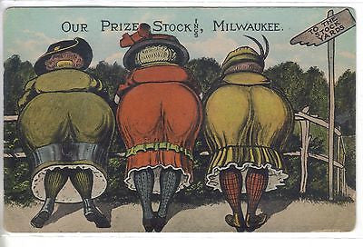 """Our Prize Stock  ings""-Milwaukee,Wisconsin - Cakcollectibles"