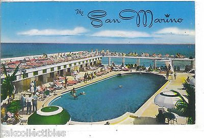 The San Marino-Miami Beach,Florida - Cakcollectibles