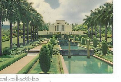 Mormon Temple in Hawaii-Oahu Island - Cakcollectibles