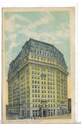 Hotel Pontchartrain-Detroit,Michigan 1911 - Cakcollectibles - 1