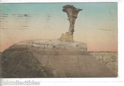 Eagle Rock,Petrified Forest-Holbrook,Arizona (Hand Colored) - Cakcollectibles