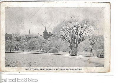 Ice Storm,Bushnell Park-Hartford,Connecticut - Cakcollectibles