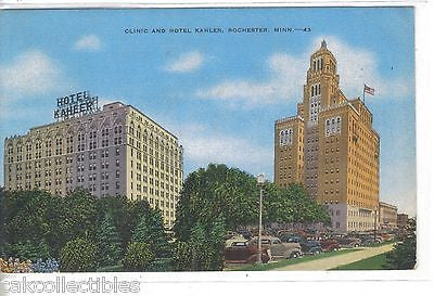 Clinic and Hotel Kahler-Rochester,Minnesota 1951 - Cakcollectibles