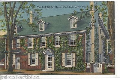 The Old Ridgley House-Dover,Delaware - Cakcollectibles
