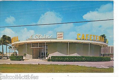 St. Clairs Cafeteria-Pompano Beach,Florida - Cakcollectibles - 1