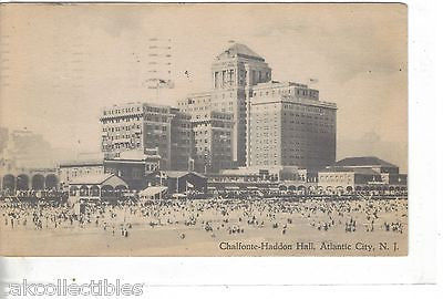 Chalfonte-Haddon Hall-Atlantic City,New Jersey 1954 - Cakcollectibles