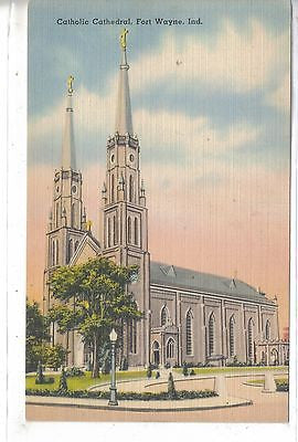 Catholic Cathedral-Fort Wayne,Indiana - Cakcollectibles