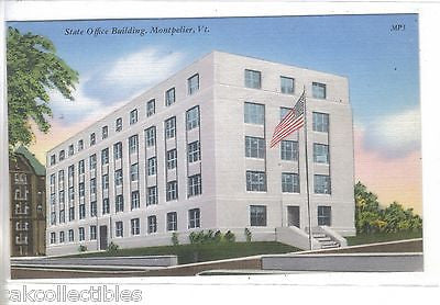 State Office Building-Montpelier,Vermont - Cakcollectibles