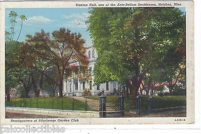Stanton Hall,one of The Ante-Bellum Residences-Natchez,Mississippi - Cakcollectibles