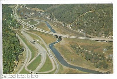 Aerial View-New York State Thruway - Cakcollectibles