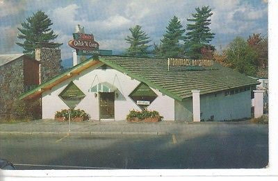 D'amico's Chick-N-Coop Restaurant, Lake Pacid, N. Y. - Cakcollectibles