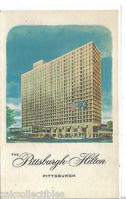 The Pittsburgh Hilton-Pittsburgh,Pennsylvania - Cakcollectibles