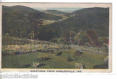 Greetings from Noblesville,Indiana - Cakcollectibles