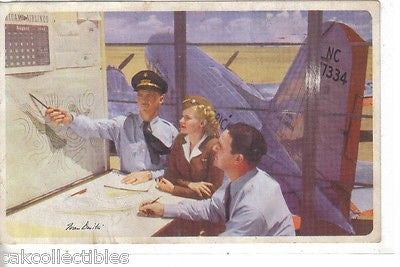 American Airlines Vintage Post Card - Cakcollectibles - 1