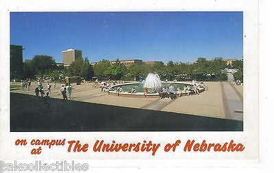 On The Campus of The University of Nebraska - Cakcollectibles