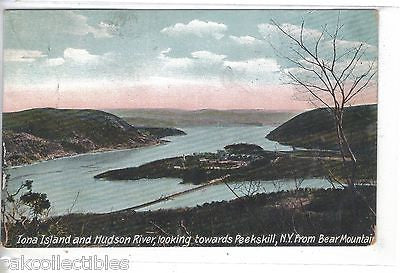 Iona Island & Hudson River ,looking towards Peekskill,N.Y. from Bear Mt. - Cakcollectibles