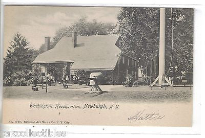 Washingtons Headquarters-Newburgh,New York UDB - Cakcollectibles