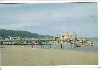 Co-Op Dock-Neah Bay-Washington 1962 - Cakcollectibles