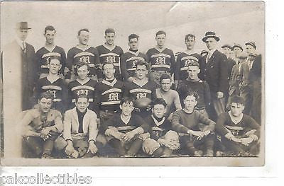 RPPC-Football Team-College? - Cakcollectibles - 1