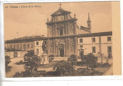 Chiesa Di S. Marco - Firenze, Italy - Cakcollectibles