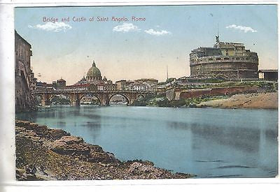 Bridge And Castle Of Saint Angelo - Rome, Italy - Cakcollectibles