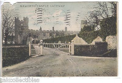 Naworth's Castle Gateway 1906 - Cakcollectibles