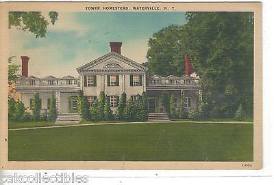 Tower Homestead-Waterville,New York - Cakcollectibles