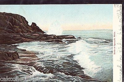 Rocks at Ogunquit,Maine 1907 - Cakcollectibles