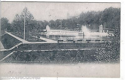 City Reservoir,Head of Penn. St.-Reading,Pennsylvania UDB - Cakcollectibles
