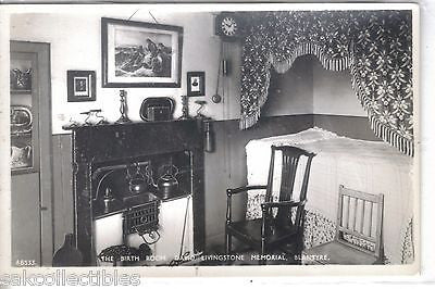 RPPC-The Birth Room,David Livingstone Memorial-Blantyre - Cakcollectibles