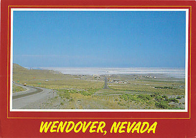 Greetings FromWendover Nevada Postcard - Cakcollectibles
