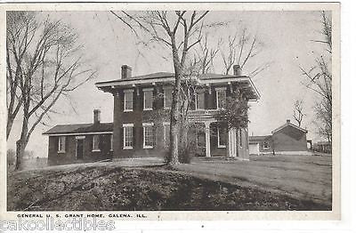 General U.S. Grant Home-Galena,Illinois - Cakcollectibles