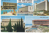 """The Dan Hotels"" - Isreal's Leading Hotels Postcard - Cakcollectibles - 1"