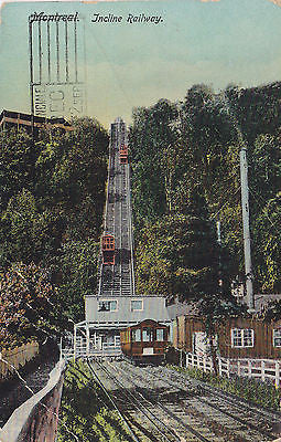 Incline Railway, Montreal, Canada Postcard - Cakcollectibles - 1