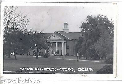 RPPC-Taylor University-Upland,Indiana 1955 - Cakcollectibles